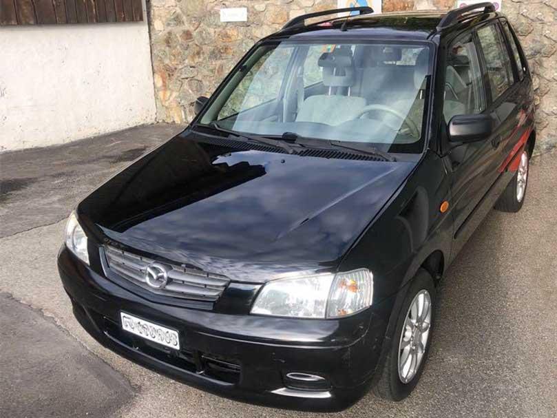 Mazda Demio 2003 157000km Handschaltung Klimaanlage Benzin
