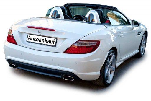 Mercedes-Benz SLK Cabriolet weiss Occasion zu verkaufen