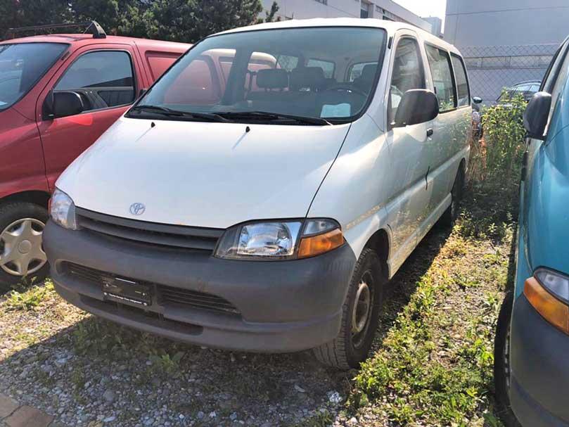 Toyota Hiace 2001 4x4 2,7L Benziner 179000km