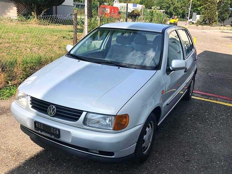 VW Polo 1997 1.,4L Benziner 80000km Handschaltung