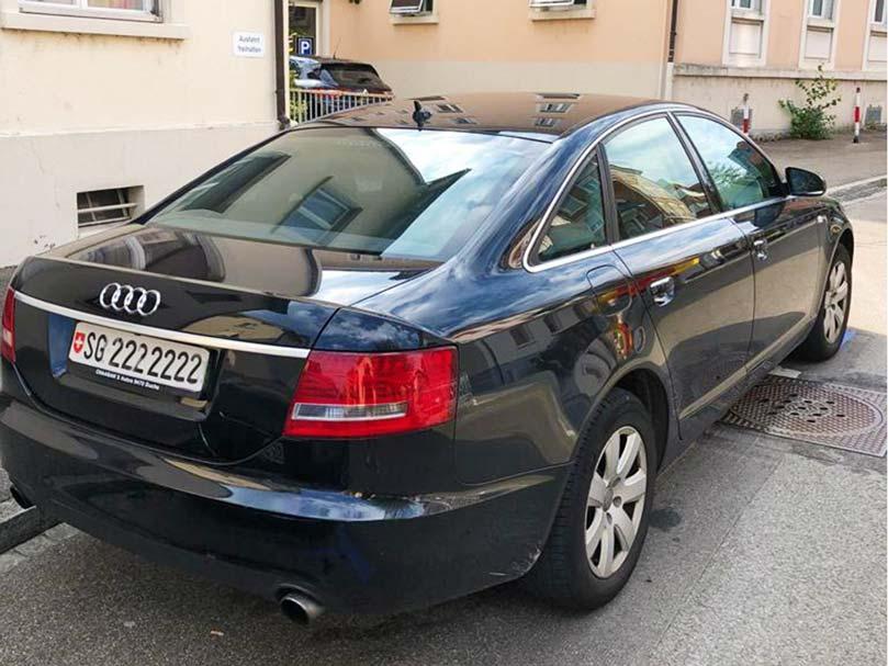 AUDI A6 Automat 2006 Diesel 254000km Klima schwarz