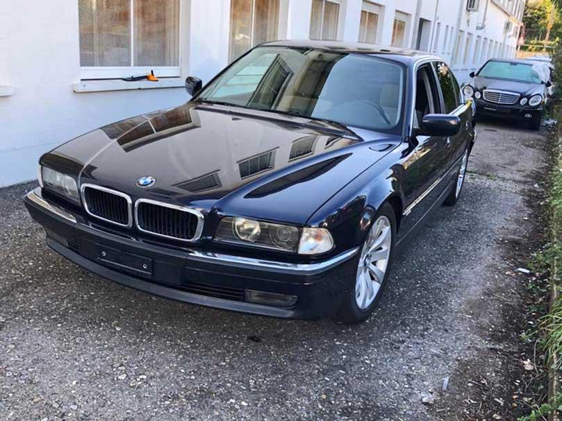 BMW 728 1999 manuell Klima Benziner