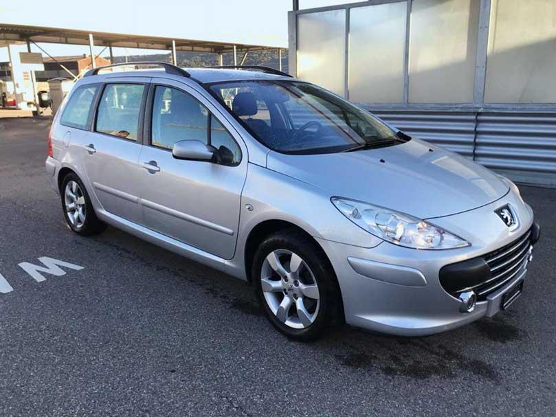 Peugeot 307 2,0L Benziner manuell Klima 173000km 2008