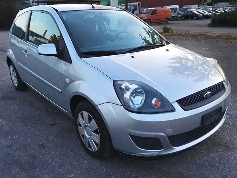 Ford Fiesta Benziner 2004 manuell 163000km