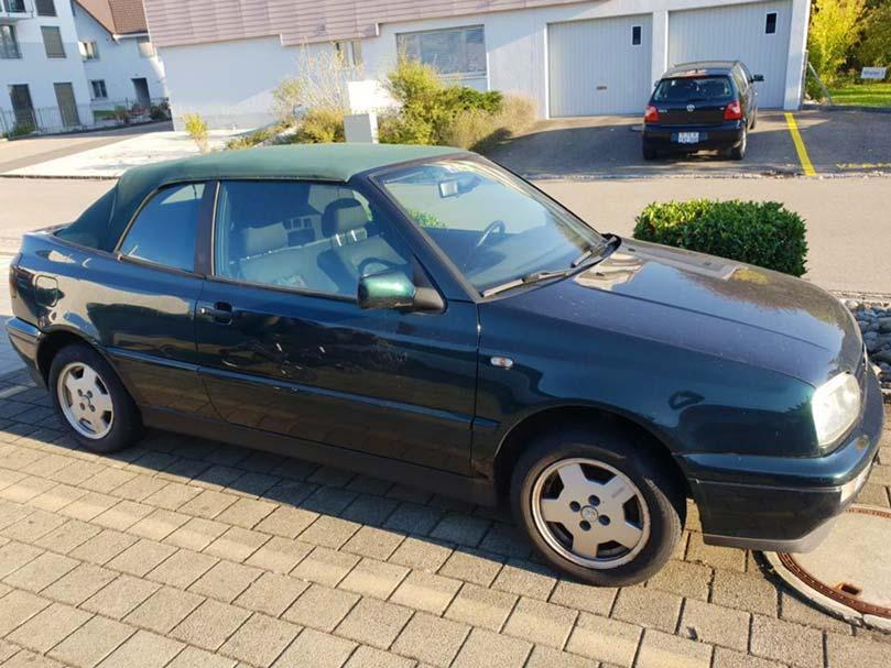 VW Golf Cabriolet 1994 1.8L Benziner 235000km