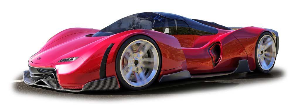 Concept Car Auto Itani