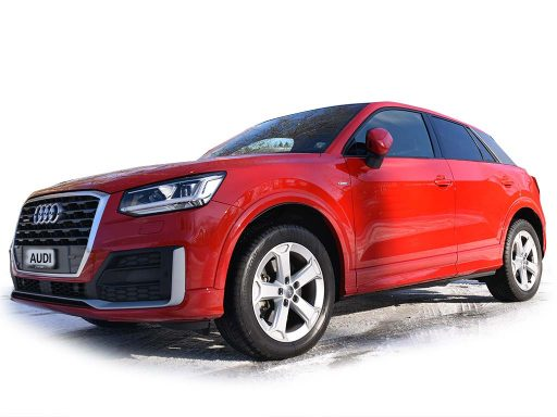 Audi A3 Sportback rot