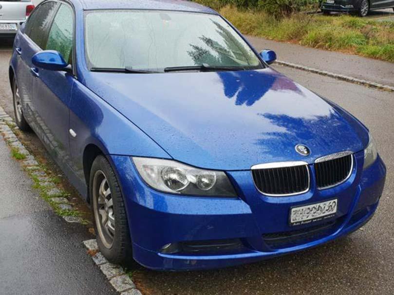 BMW 325i 2005 6-Stufen-Automat Steptronic Klimaanlage marineblau 245000km 2497ccm 1535kg Benziner Hinterradantrieb 9,0L 6Zylinder