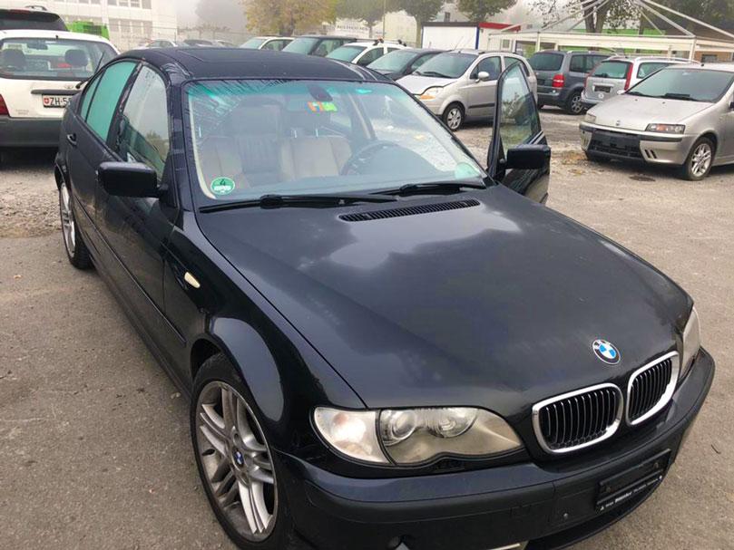 BMW 330 2004 Klima Automat Leder Benziner 179000km Hinterradantrieb 2993ccm 204PS 1630kg