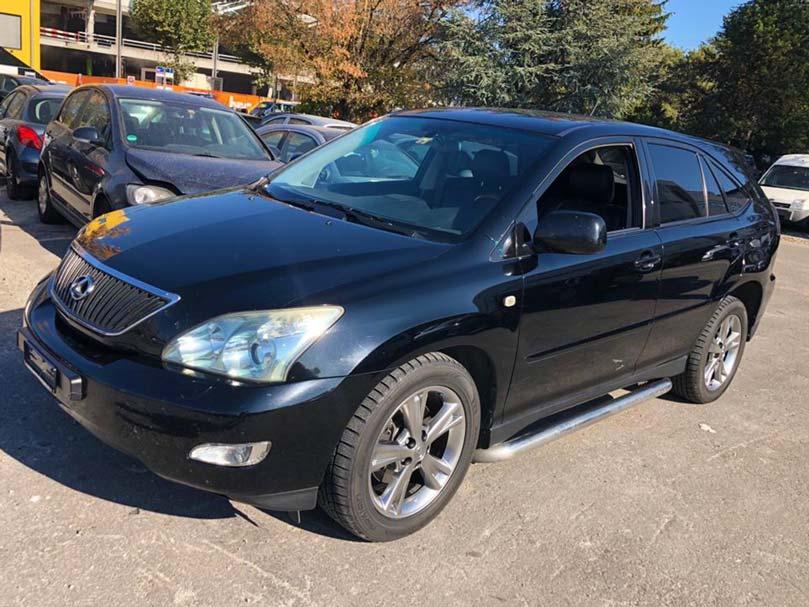 LEXUS RX 350 Limited AWD Automatic SUV 2007 Leder Klima schwarz 146000km Allrad 6Zylinder 3456ccm 277PS 10,6L 2160kg Anhaengerkupplung bis 2000kg