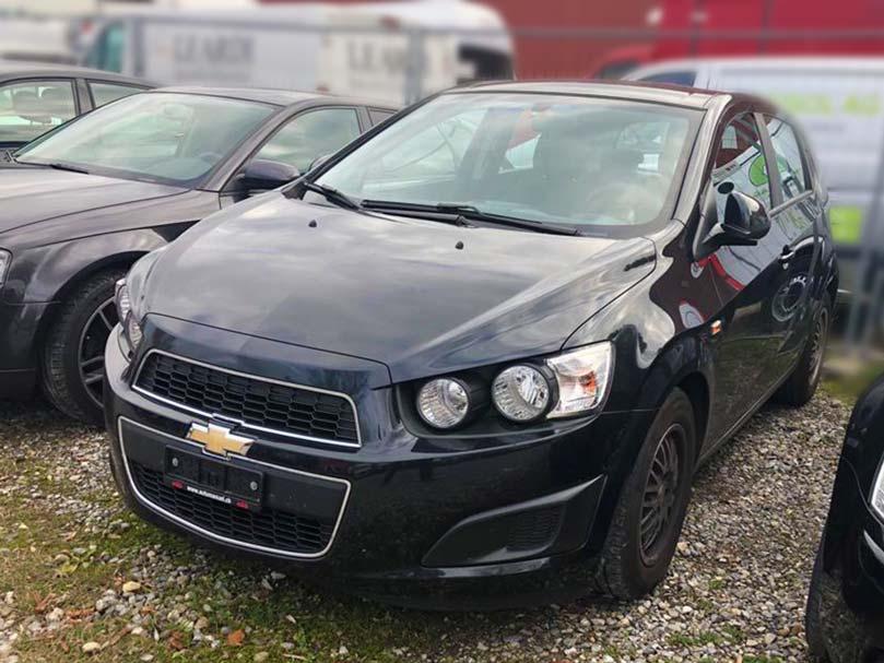 Chevrolet Aveo LT 1399ccm 101 PS 2011 1CA722 92000km Benziner Vorderradantrieb manuell 6,1L