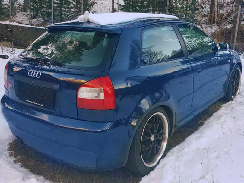Audi S3 quattro 2003 manuell Benziner 174000km 225PS 1780ccm 1AC135 9,4L