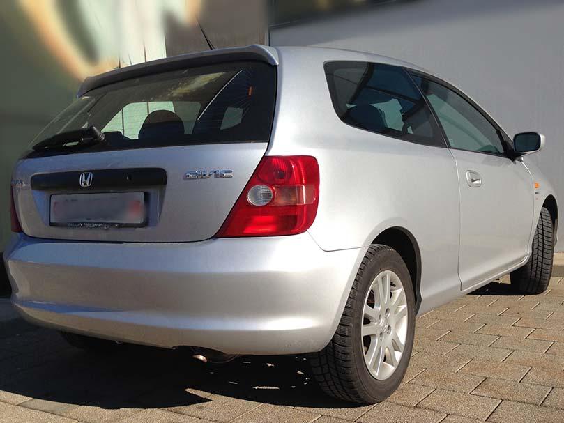 HONDA Civic 1.6i Sport 2003 1590ccm 1279kg 1HA257 manuell 110PS 163000km 6,6L