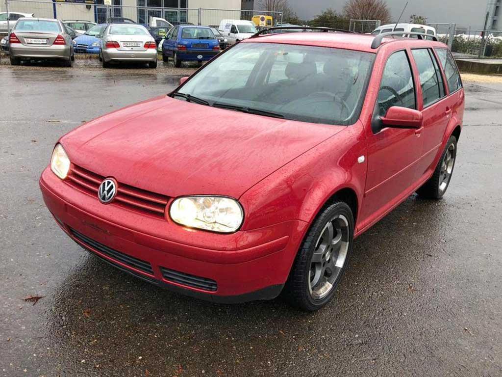 VW Golf Variant Kombi 2003 1,8L Benziner Manuell 212000km 101PS 1796ccm Vorderradantrieb 7,9L 1582kg