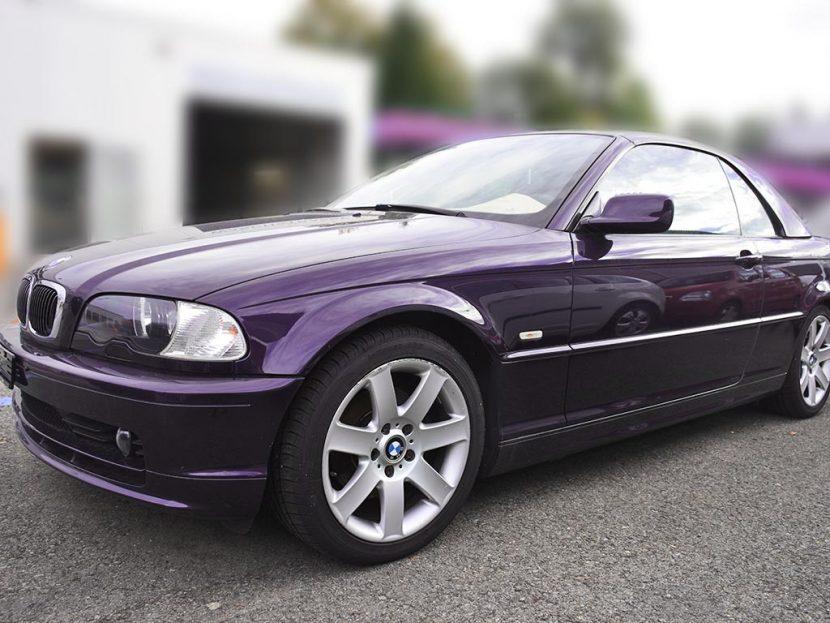 BMW 320ci Cabriolet Hardtop 2002 178000km 190PS Benziner manuell 7L