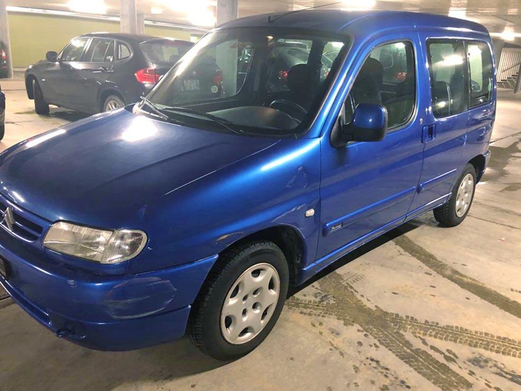 CITROEN Berlingo 1.8 SX Familiale 1999 Diesel Automat 192000km 90PS1762ccm 1380kg 8,9L