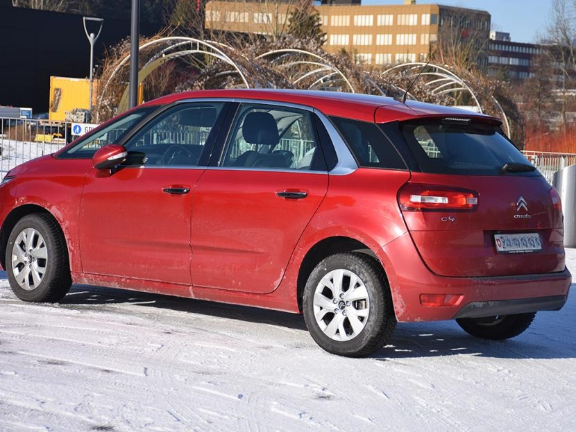 CITROEN C4 Picasso 1.6i 16V THP Exclusive 2014 150PS 95000km Benziner 1598ccm manuell 6L
