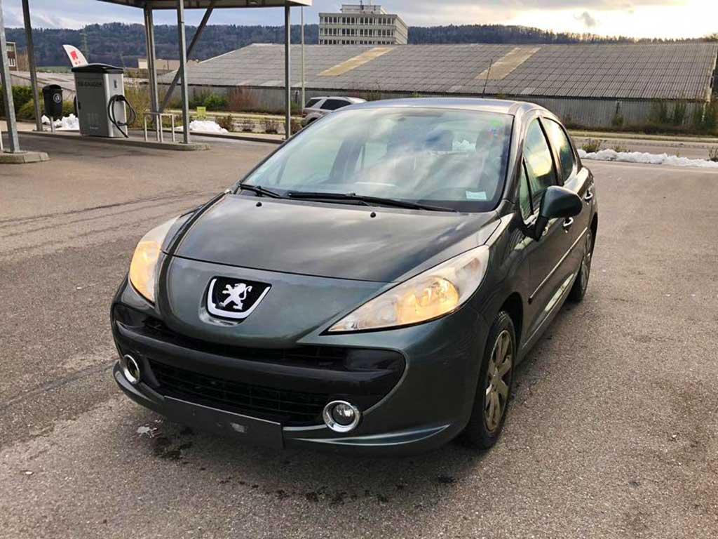 PEUGEOT 207 1.6 16V Sport 207 Automat Benziner 2009 120PS 83000km 1598ccm 1278kg 6,1L