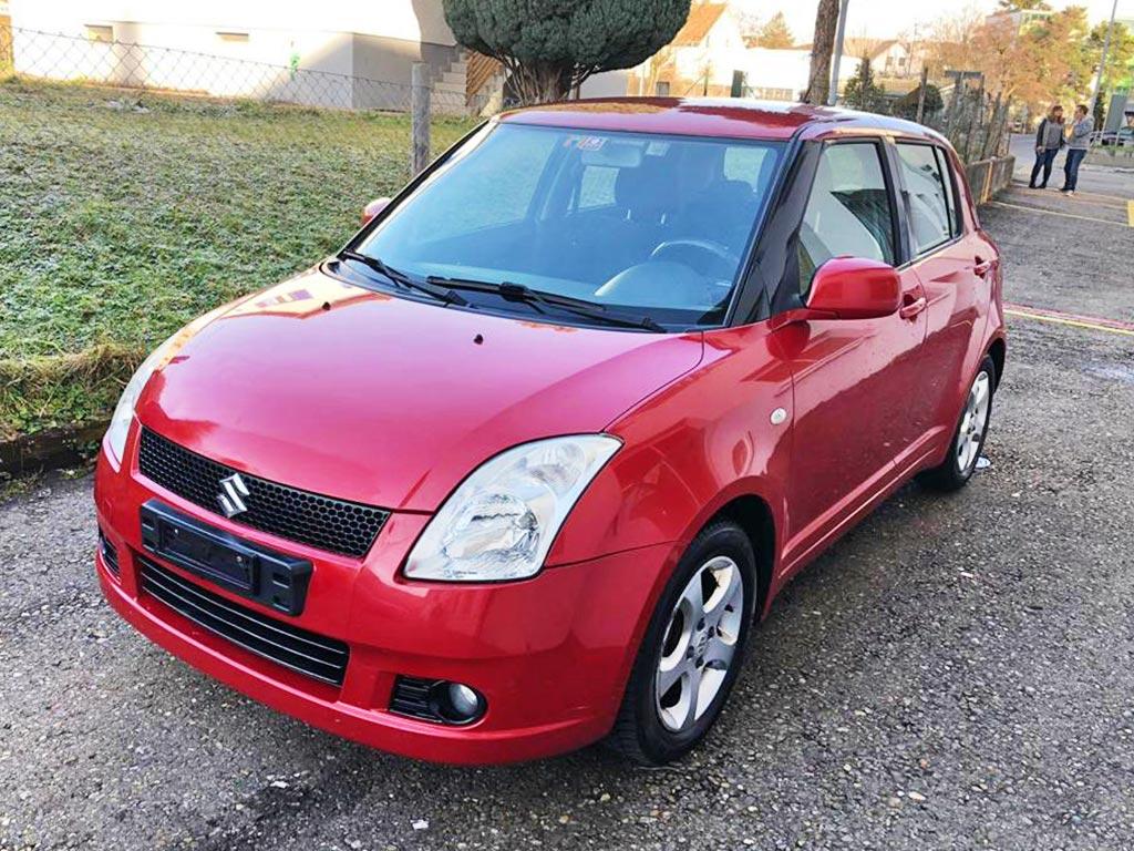 SUZUKI Swift 1.3i 16V GL 2006 Benziner 134000km 92PS manuell 1328ccm 1076kg 6,2L 1SD615