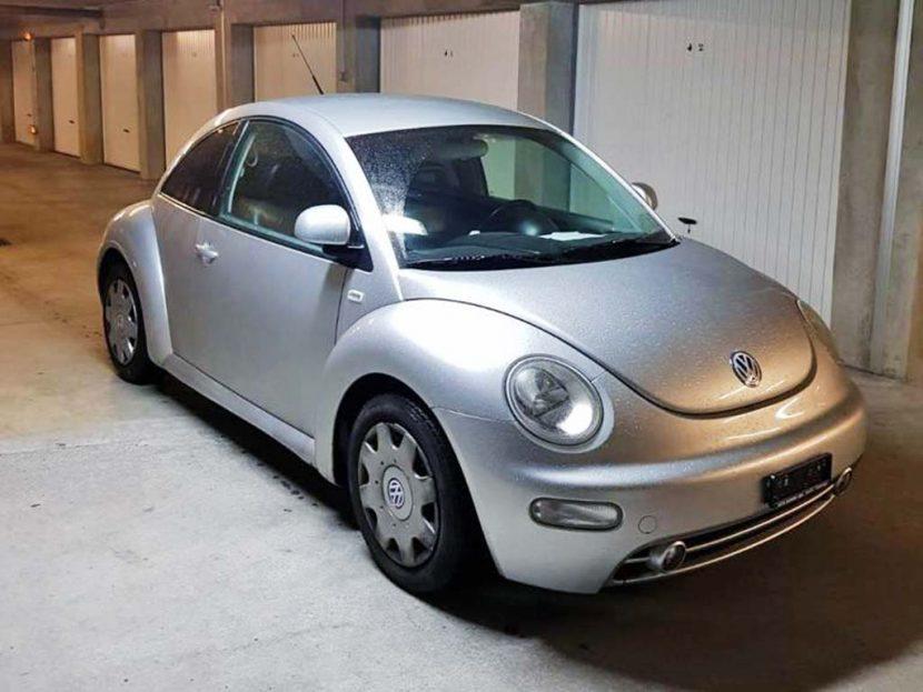 VW Beetle 2.0 Kaefer 2001 Benziner 159000km 115PS 1984ccm silber 1372kg 8,8L