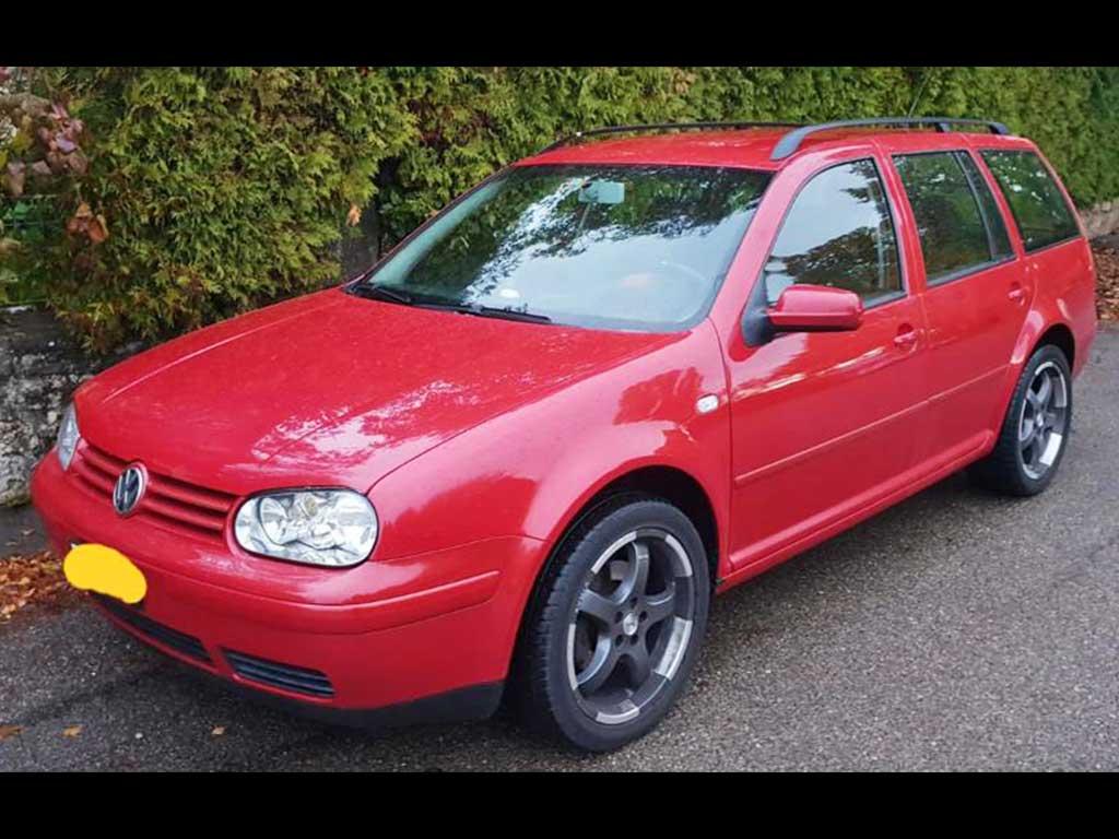 VW Golf Variant 1900 TDI Swiss-Line Kombi 1997 Benziner manuell 218000km 1896ccm 1340kg 90PS 5,6L