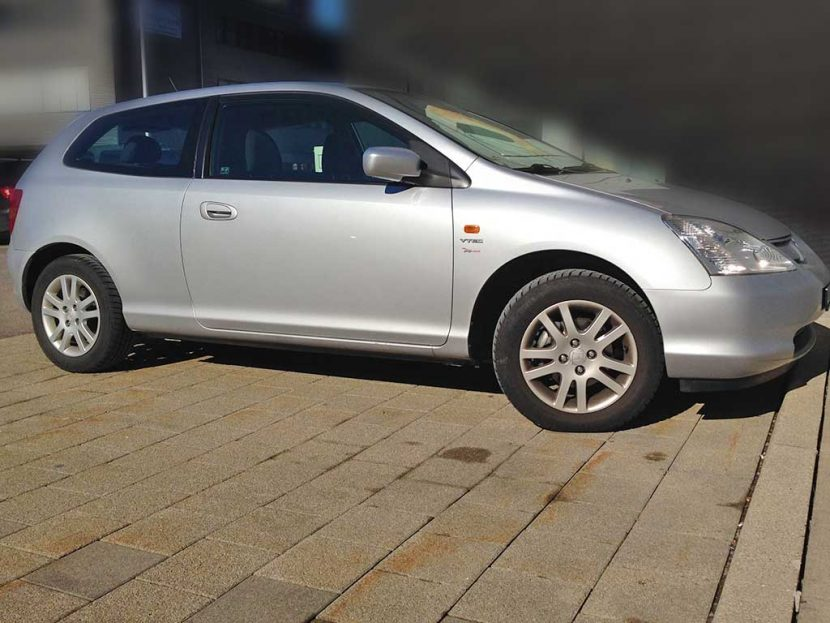 Honda Civic 2004 110PS Benziner 1590ccm manuell 1280kg 3doors 6,6L 1HA257