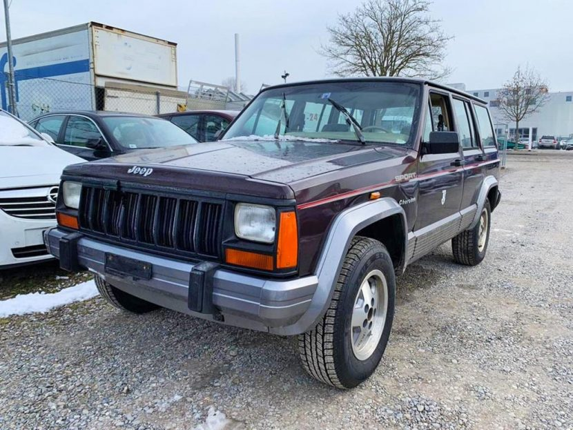 JEEP Cherokee 4.0 Sport Gelaendewagen 1991 Automat Benziner 145000km Allrad 185PS 3958ccm 1580kg