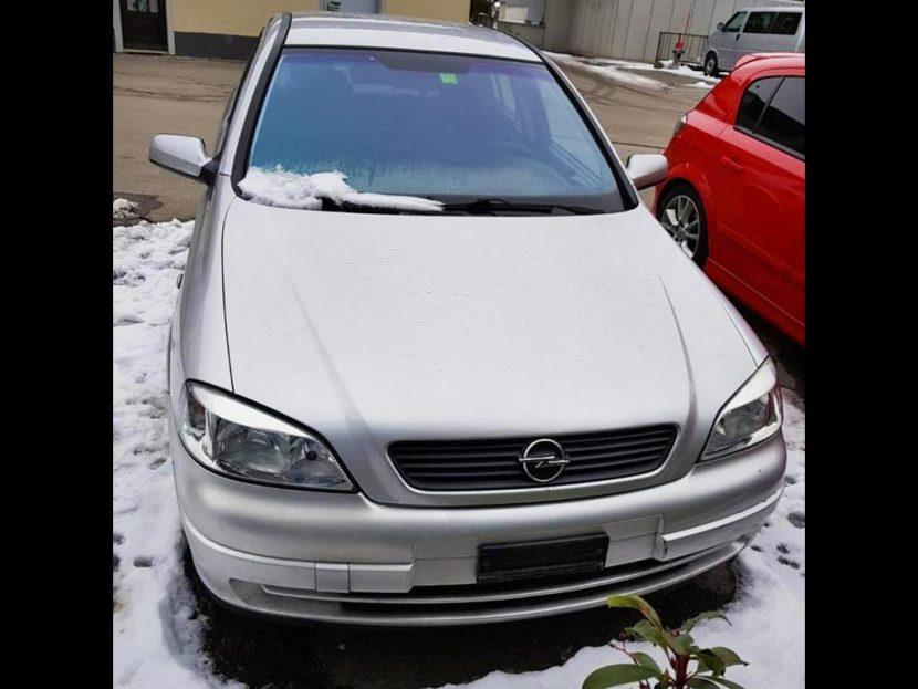 OPEL Astra Caravan 1.8i Linea Fresca 2002 Benziner Kombi 132000km 125PS Automat 1786ccm 1278kg 8,8L