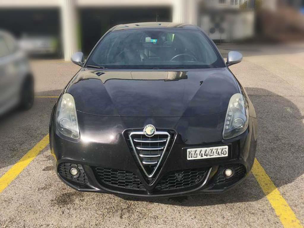 ALFA ROMEO MiTo 1,4 TB Distinctive Kleinwagen 2009 128000km Benziner manuell 155PS 1368ccm 6,4L schwarz 1220kg