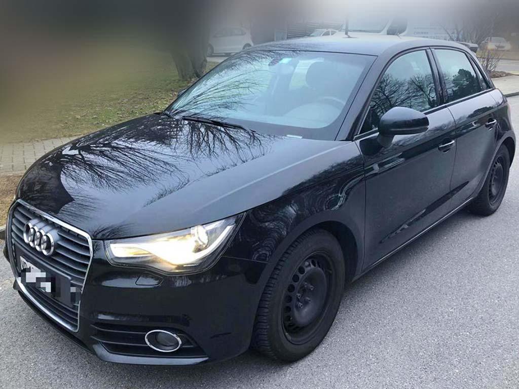 AUDI A3 2,0 TDI Attraction Limousine Diesel 2012 manuell 87000km schwarz 1370kg 1968ccm 150PS 4,7L