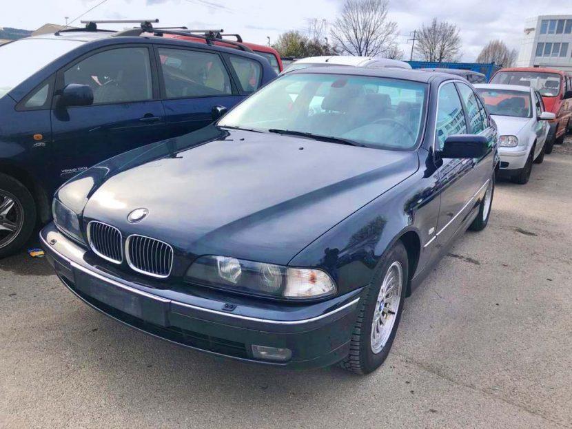 BMW 530d Diesel Automat 2003 stufenheck 252000km schwarz 230PS 6Zylinder Hinterradantrieb 1580kg 2979ccm 9,8L