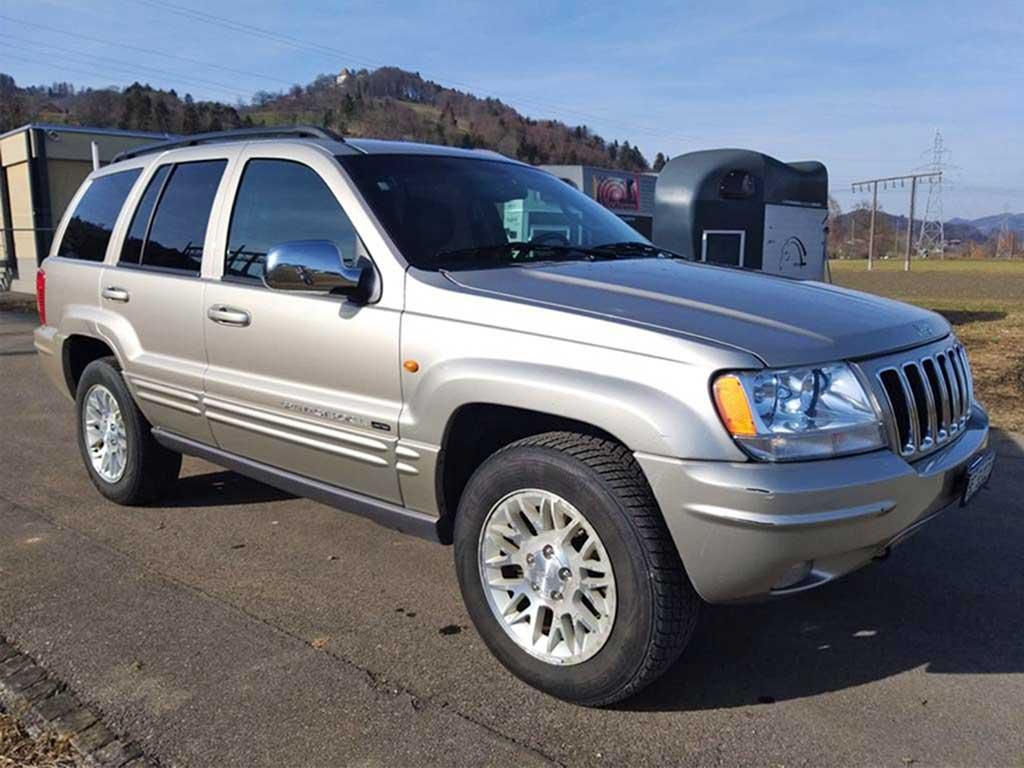 JEEP Grand Cherokee 2,7 CRD Laredo Automatic SUV Geländewagen 2007 Diesel Automat 163PS 2685ccm Allrad 5Zylinder 2135kg174000km 9,6L Beige