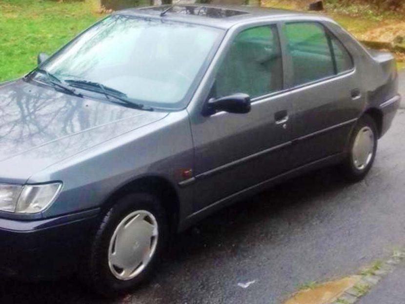 PEUGEOT 306 1,8 16V XT Automat 2001 Benziner stufenheck 236000km Anthrazit 1761ccm 110PS 1344kg 8,4L