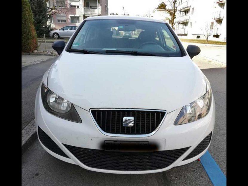 SEAT Ibiza 1,2 TSI Sport Eco Tech 2011 Benziner manuell 105PS 1197ccm 1096kg 5,1L 137000km weiss