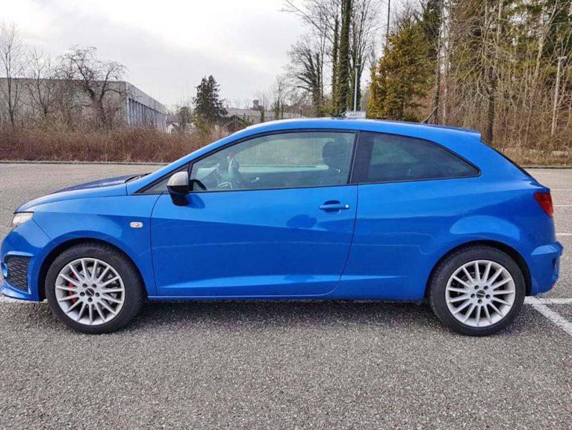 SEAT Ibiza SC 1,4 TSI Cupra DSG Kleinwagen Handschaltung Benziner 2010 180PS 1390ccm 1246kg 162000km Mitternachtsblau 6,2L