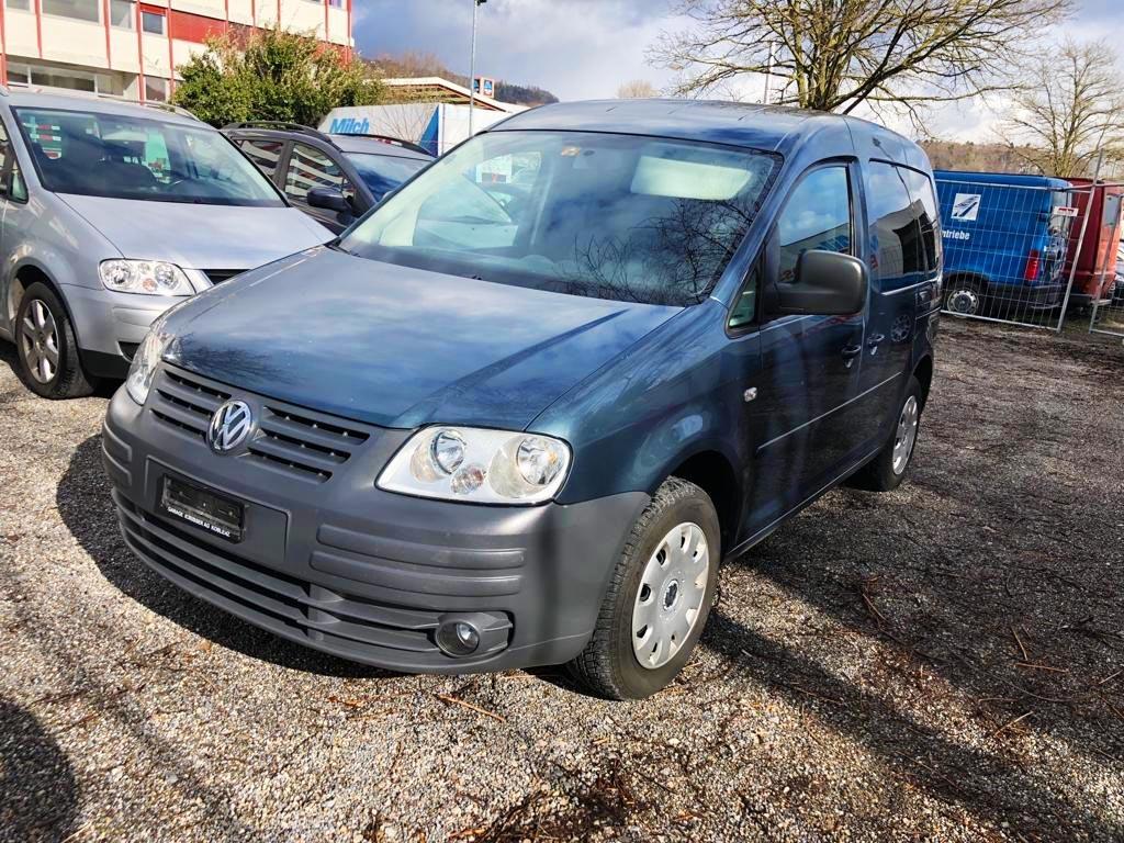 VW CADDY Life 1.9 TDI Blue Motion Diesel 2008 215000km Manuell 1896ccm 1600kg 5,8L