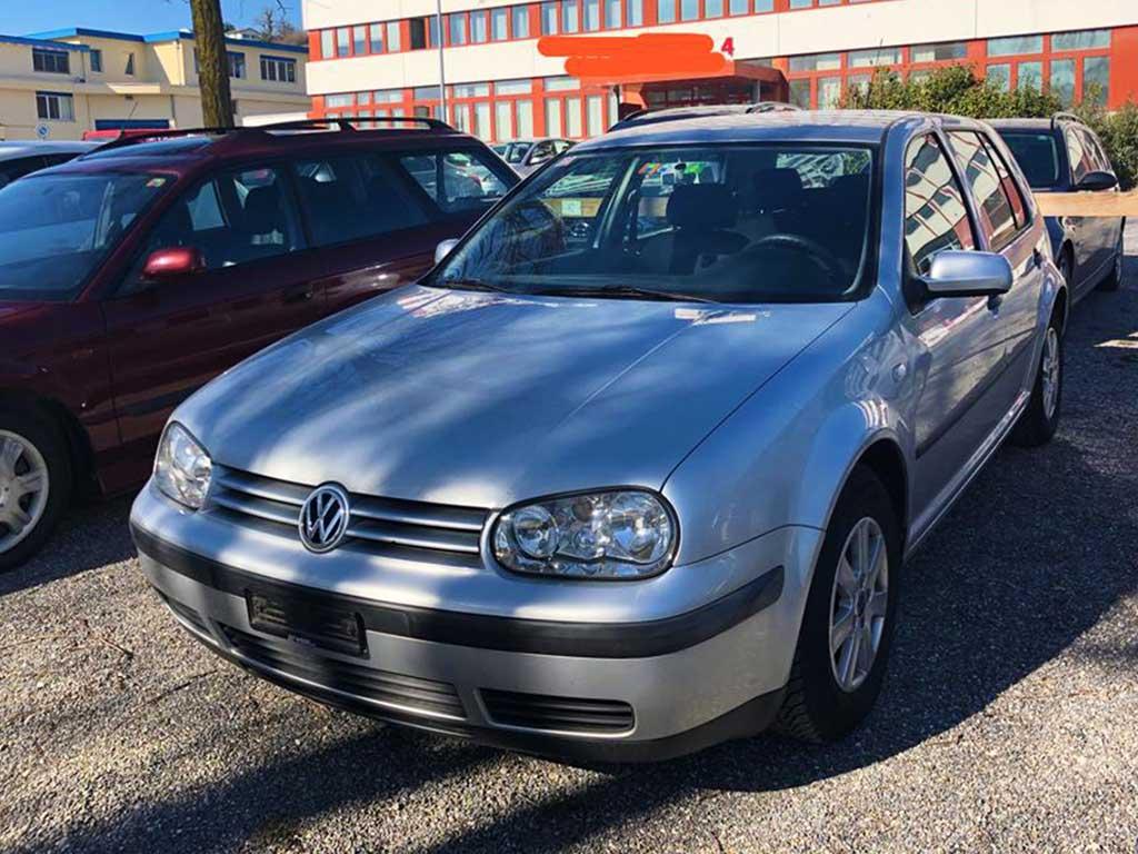 VW Golf 1,6 16V Pacific 2003 Benziner manuell 172000km 105PS 1598ccm 1420kg 7,2L silbergrau