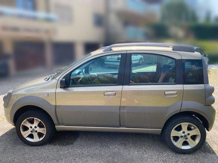 Fiat Panda 4x4 2009 Diesel manuell 60PS 1242ccm 140000km 1140kg 6,6L