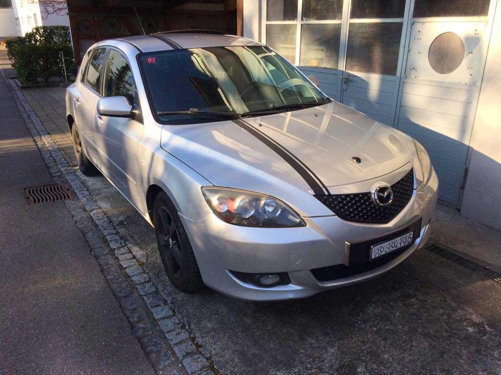MAZDA 3 2,0 16V CD Sport Limousine 2007 Diesel 143PS 1998ccm 1484kg 152000km 6L