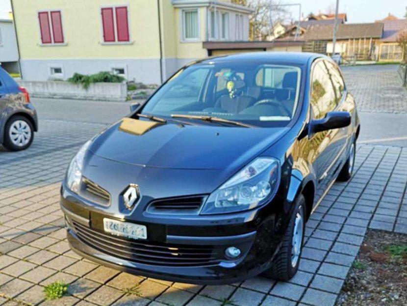 RENAULT Clio 1,4 16V Dynamique 135000km Kleinwagen 2007 Benziner manuell 1396kg 1390ccm 98PS 6,6L