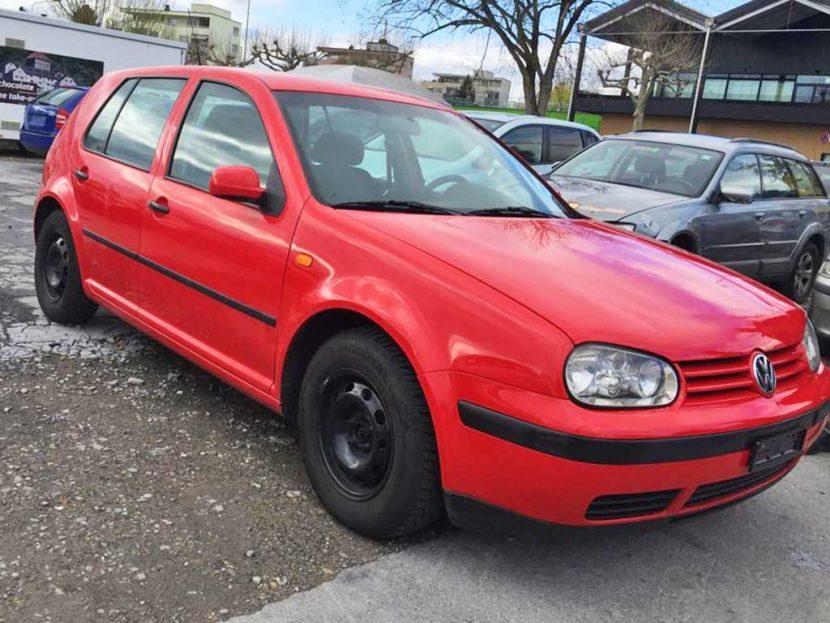 VW Golf 1,8 Comfortline 1998 Automat Benziner 125PS 184000km 1422kg 9,2L