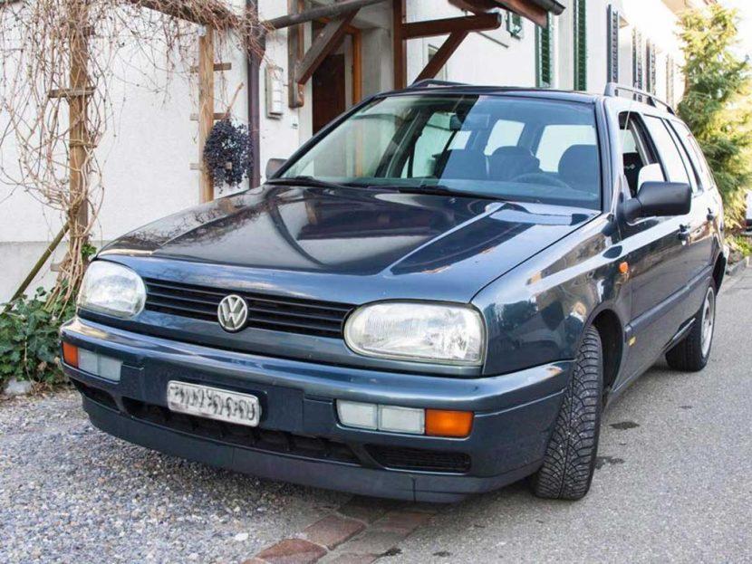 VW Golf 3 Variant Swiss-Line Syncro Kombi Automat Benziner 1994 Allrad 224000km 1984ccm 1360kg 9,4L