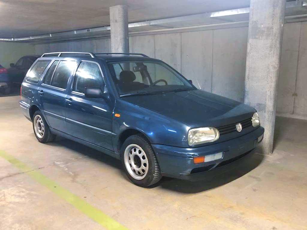 VW Golf Variant 1,6 Comfortline Kombi 1998 Benziner manuell 100PS 1592 238000km 1447kg 7,4L