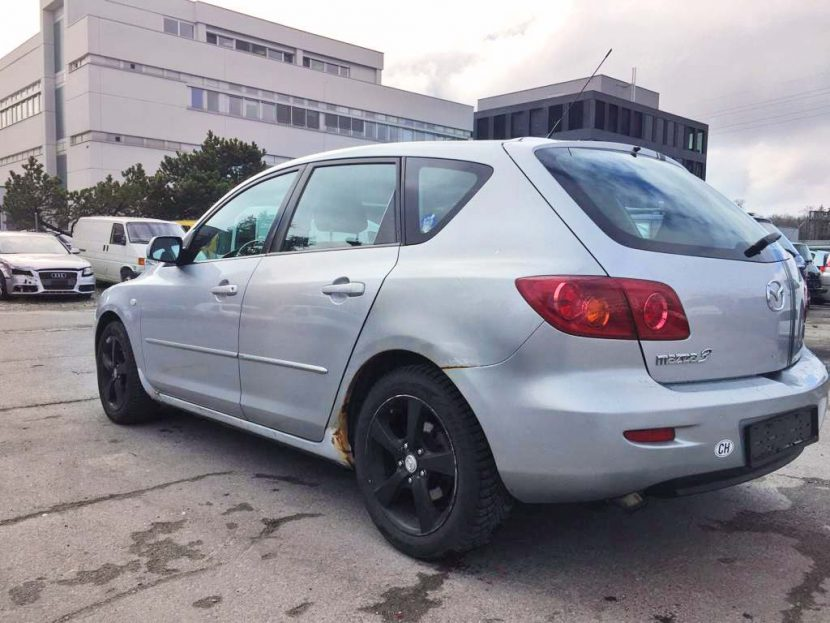 MAZDA 3 1,6 16V Confort Benzin 2005 Automat 105PS 1598ccm 132000km 1340kg 7,2L