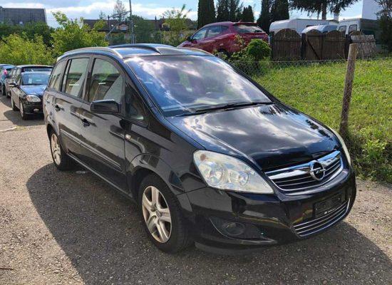 OPEL Zafira 1,9 CDTI Enjoy Automatic Kompaktvan Minivan 2009 Diesel sequentieller Automat 1OB316 1640kg 1920ccm 150PS 23800km