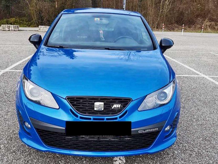 SEAT Leon 2.0 TSI Cupra R ABT Sportwagen2012 Benziner manuell 89000km 264PS 1984ccm 1450kg 8L dunkelblau