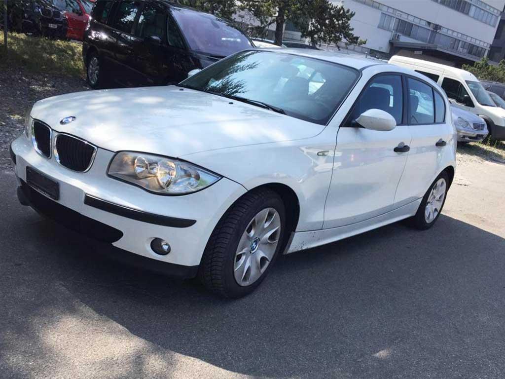 BMW 120 Diesel 2007 manuell 177PS 1995ccm 1455kg Hinterradantrieb 136000km 4,8L