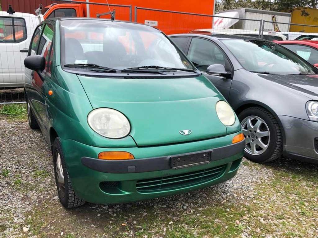 DAEWOO Matiz 1000 GT Kleinwagen 2005 Benziner 64PS manuell 995ccm 930kg 143000km 6,4L