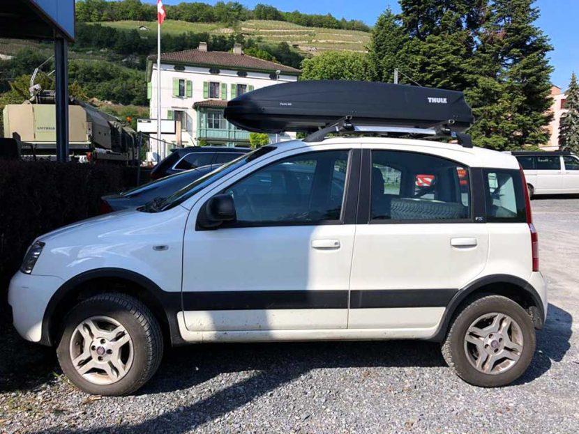 FIAT Panda 1.2 Dynamic Kleinwagen Benziner 2010 manuell 82000km 60PS 1242ccm 934kg 5,6L