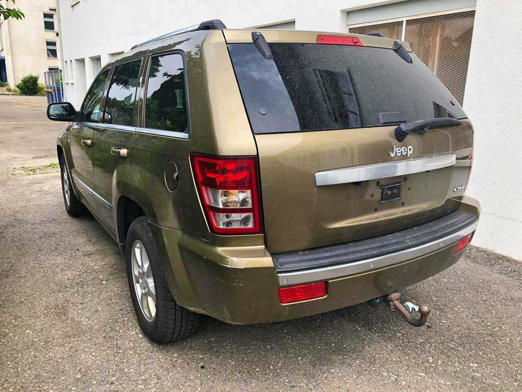 JEEP Grand Cherokee 3,0 CRD Overland Automatic SUV 2009 Diesel Automat 226000km 218PS 2987ccm 2310kg 6Zylinder Allrad 10,4L